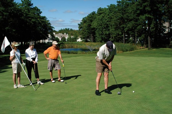 Golf at Over 55 Communities in Massachusetts